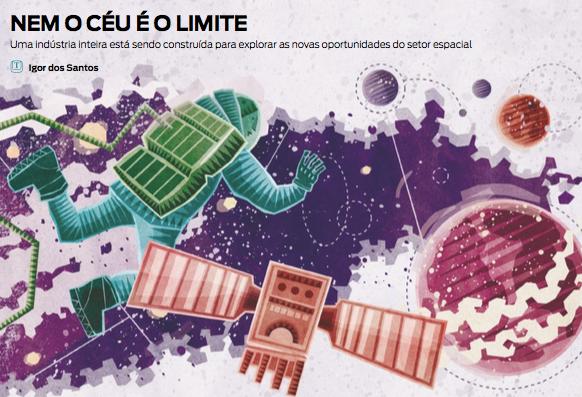 O Espaço ganha destaque na Revista Pequenas Empresas & Grandes Negócios