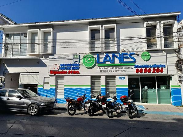 Laboratorios Lanes en Tuxtla Gutierrez, Chiapas
