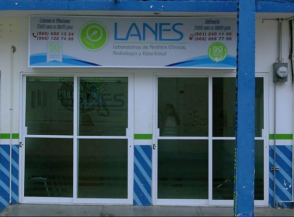 Laboratorios Lanes Sucursal Coita, Chiapas