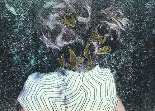 """""""Portrait of Artist""""  by CHANDRA NOYES"""