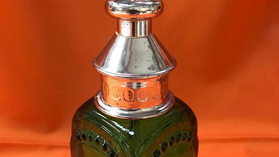 Vintage Collectable Avon Whale Oil Lantern Blue Blazer Aftershave empty bottle