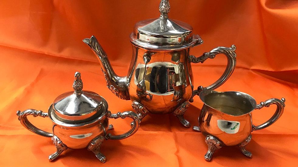 Vintage Miniature (Child's) Silver Plated Teaset