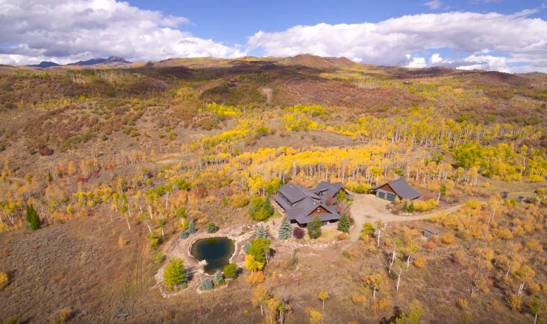 Smith Creek Fall Drone Shoot