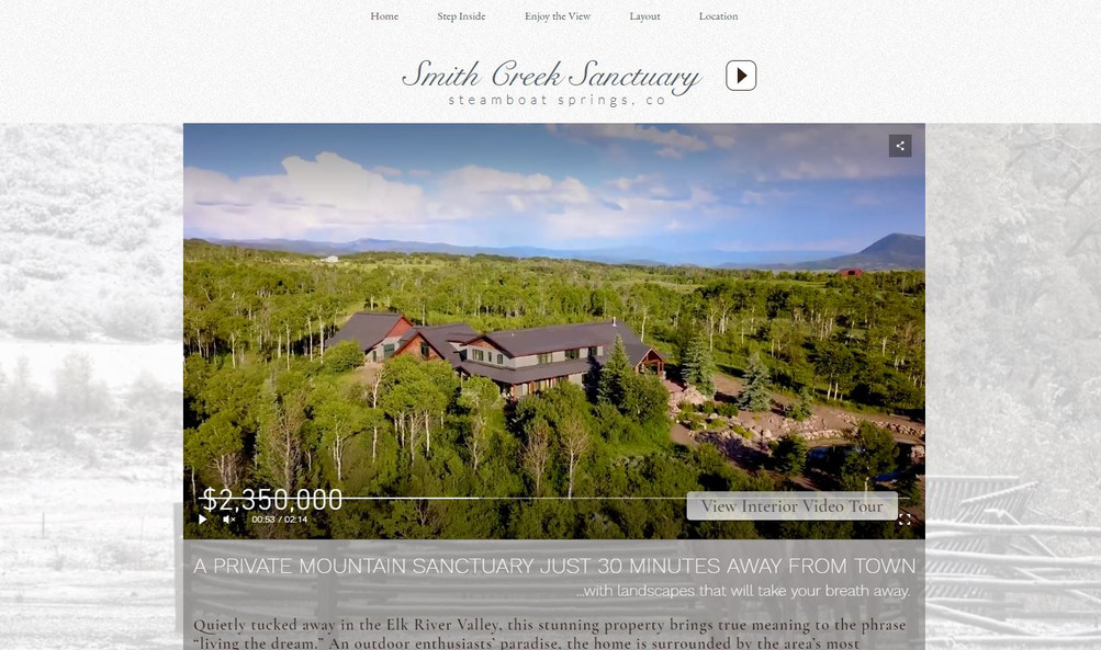 Smith Creek Website