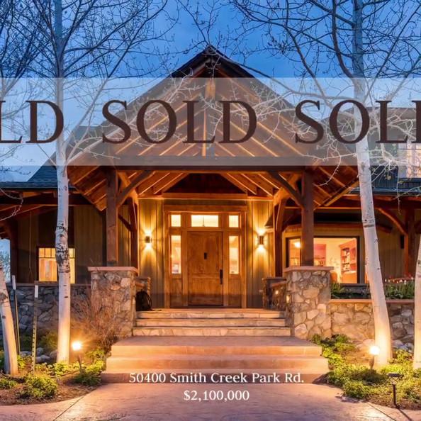 SOLD! Smith Creek Sanctuary
