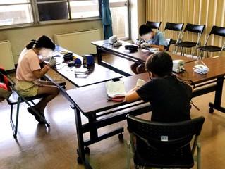 はんだ付けの体験教室 20210801