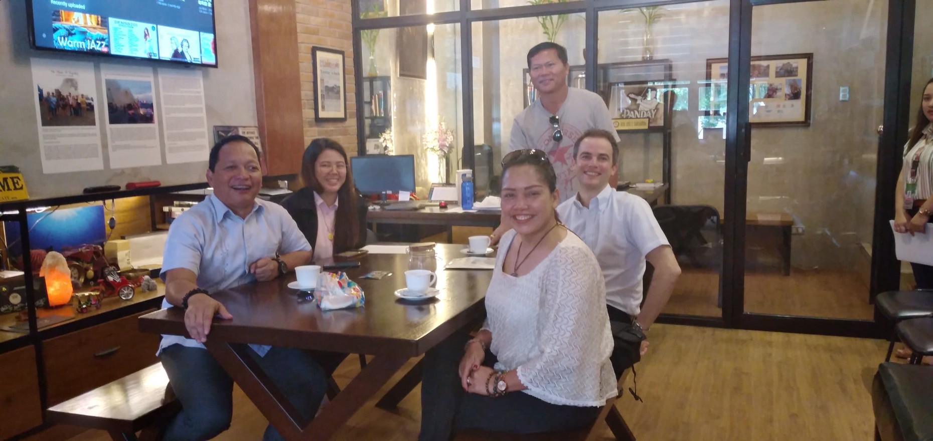 Meeting with Cebu City Councilor Joel Garganera at Cebu City Hall