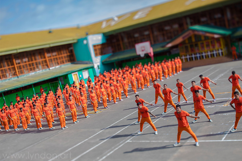 There are 1,800 male and female prison inmates at CPDRC. More than half of them dance.
