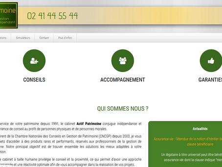 création site internet Conseil Investissement Immo Optimisation Patrimoniale Défiscalisation Nantes