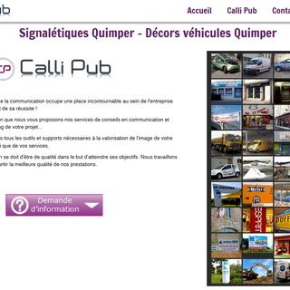 site internet calli pub quimper