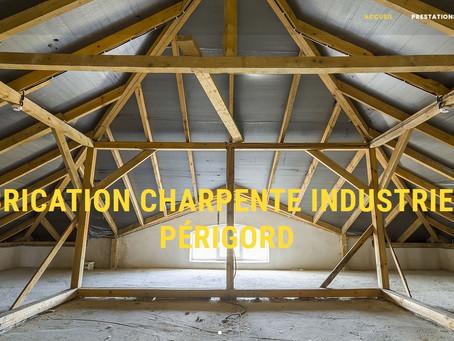 création site internet Ossature bois Nantes Charpente Traditionnelle industrielle bois 44 85 56 35