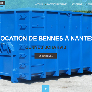 location de bennes à Nantes Scharvis