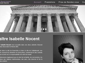 Agence de communication Nantes Cabinet Avocat création site internet web  réseaux sociaux 44