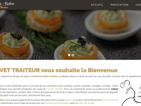 Création Site Internet Traiteur Mariage Nantes Séminaires Team Building Banquets cocktail Baptême