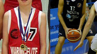Former Comet Junior George Emms, makes his professional league debut for Worcester Wolves in the BBL
