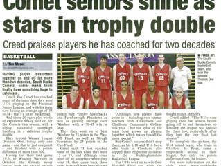A Successful 2013/14 Season for the Comets Club