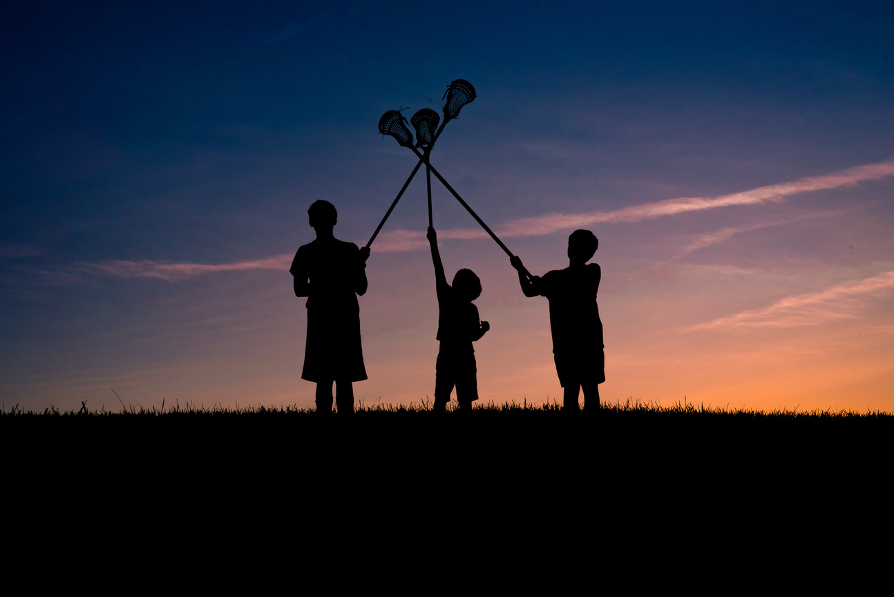 Web | Family | Sunset Silhouettes (1 of