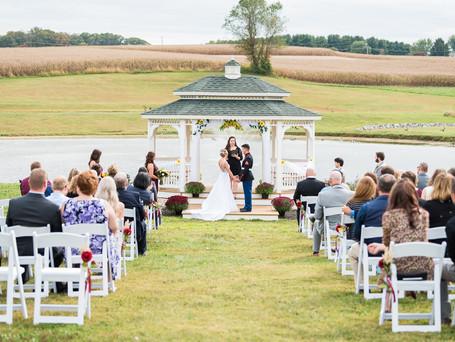 Hailey + Brett | Wedding | Friendly Farms