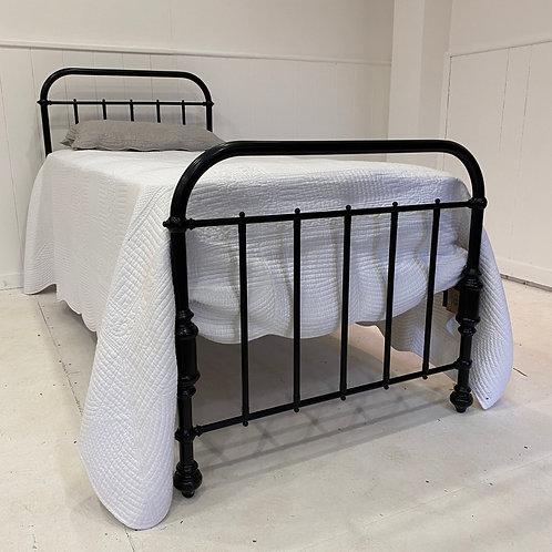 Black Single Metal Bed Frame - OM029