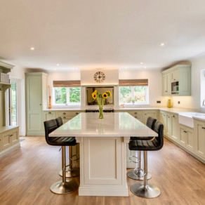 Handmade In-Frame Kitchen - Liphook