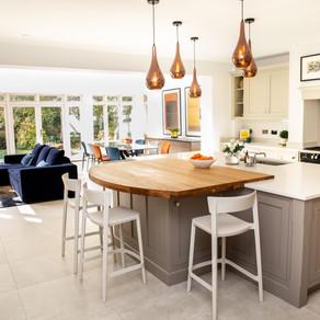 Stunning Bespoke Family Kitchen - Haslemere