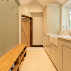 Bespoke Utility Room / Boot Room - Godalming, Surrey