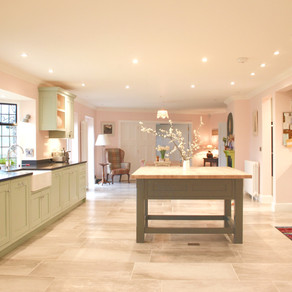 Handmade Kitchen - Period Property in Chiddingfold, West Sussex
