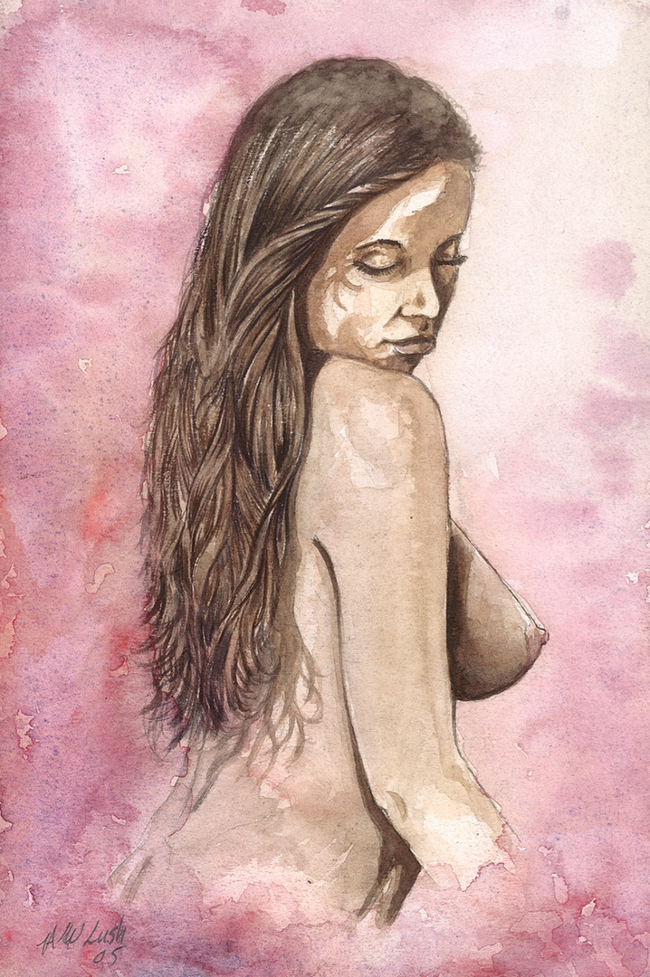 Erotic Painting - Hampshire Artist