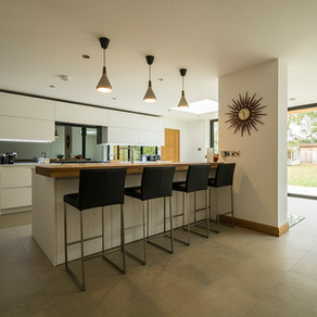 Contemporary Kitchen - West Horsley, Surrey