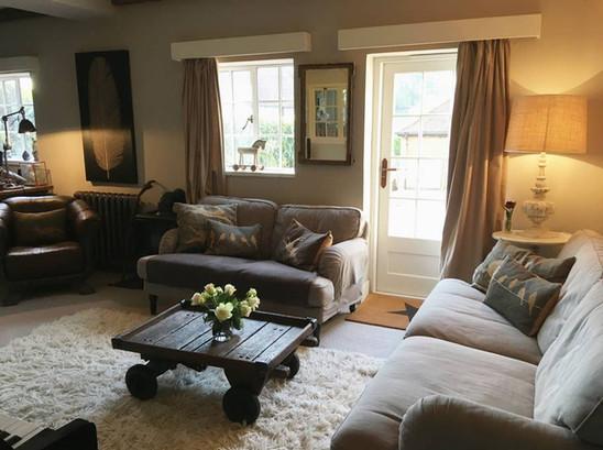Lockets Farm Cosy Living Room