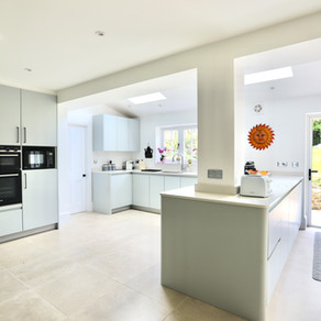 Luxury Contemporary Kitchen - Haslemere