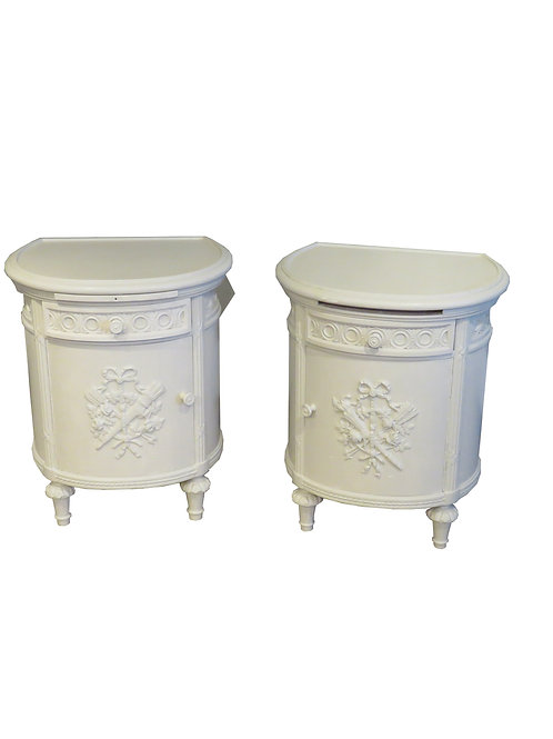 Painted Bedside Tables - F023