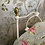 Thumbnail: Single White Iron and Brass Bed - OM098