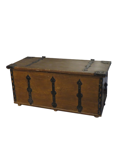 Old Painted Chest - F022