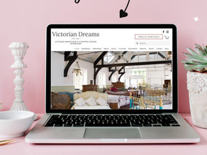 Victorian Dreams, nr Haslemere - New brand and website