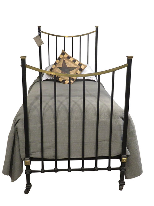 Single - Antique Edwardian Bedstead – OM013