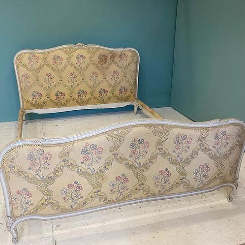Kingsize 5.6ft - French Antique Upholstered Bed - UP070