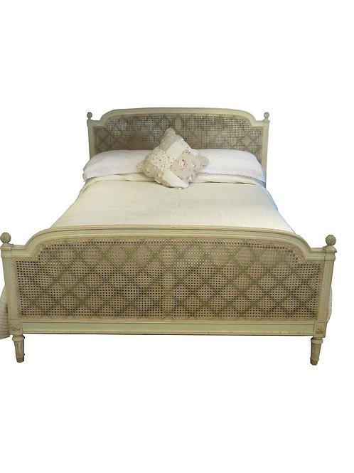 Antique Caned Bedstead – OC002