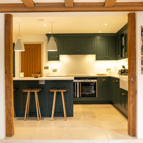Inchyra Blue Bespoke Kitchen - Haslemere, Surrey.