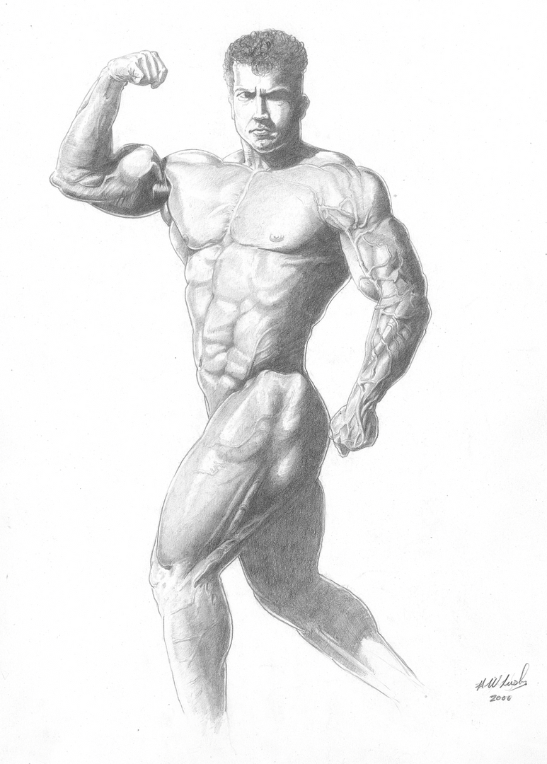 Body Builder - Hampshire Artist