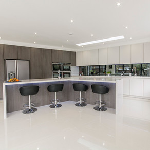 Contemporary Kitchen - Addlestone, Surrey