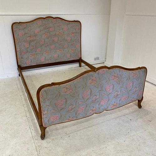 Kingsize - Vintage French Upholstered Bed - UP059