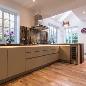 Bespoke Handleless Kitchen - Guildford, Surrey