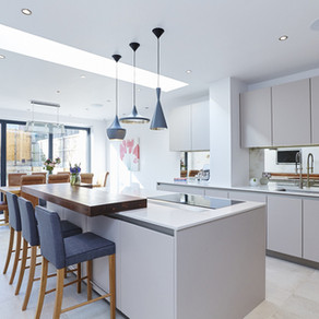 Bespoke Handleless Kitchen - Dulwich, London