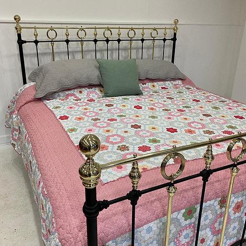 Super King French Antique Bed Frame - OM107