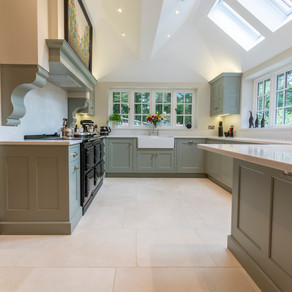 Handmade Cottage Kitchen - Hascombe, Godalming, Surrey