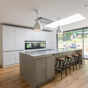 Bespoke Contemporary Kitchen - Godalming, Surrey