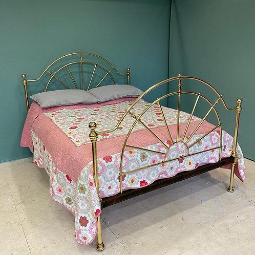 Kingsize - Antique Brass Bed - OM127