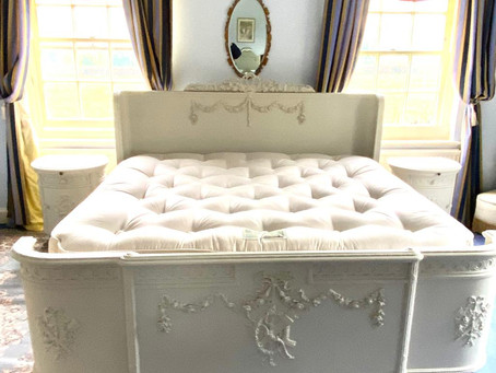 Antique Superking Bed delivered to Chawton the home of Jane Austen!
