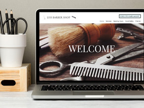 New website - Liss Barber Shop